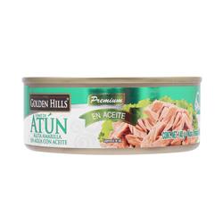 Atún en Aceite Golden Hills Lomo de Atún Premium 140 g