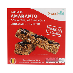Barra de Amaranto Sweetwell 150 g