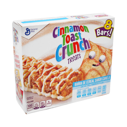 Barra de Cereal Cinnamon Toast Crunch  24 g x 8