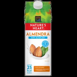 Leche Natures Heart Almendra sin Azúcar 946 mL