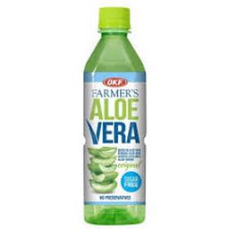 Bebida de Aloe Vera Okf Farmers Sugar Free 500 mL