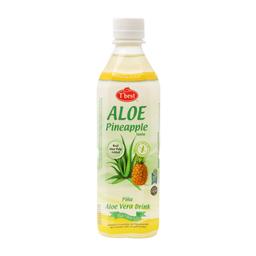 Agua Saborizada Tbest Sabor Pina Con Aloe Vera 500 mL