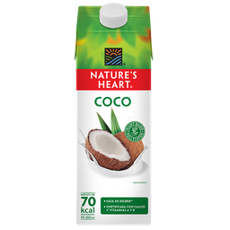Leche Natures Heart Coco 946 mL