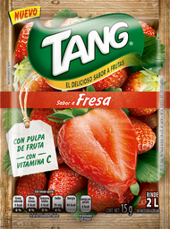 Polvo Souble Tang Fresa Sobre 15 g