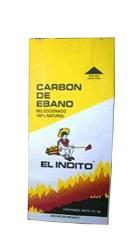 Carbón El Indito Ebano Vegetal 3 Kg