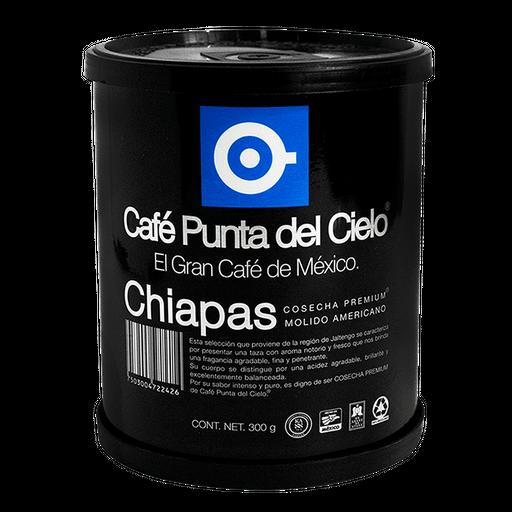 Café Punta Del Cielo Chiapas Americano Molido 300 g