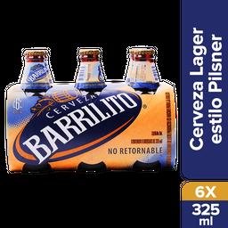 Barrilito Cerveza Botella Six Pack