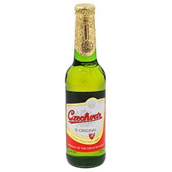 Cerveza Czechvar Premium Lager Botella 330 mL
