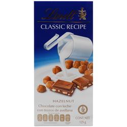 Chocolate Lindt Con Trozos de Avellana 125 g