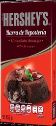 Chocolate Amargo Hersheys Para Repostería Barra 150 g