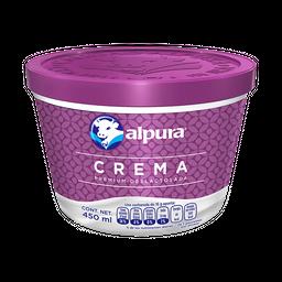 Crema Alpura Deslactosada Premium 450 mL