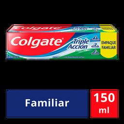 Pasta Dental Colgate Triple Acción Familiar 150 mL