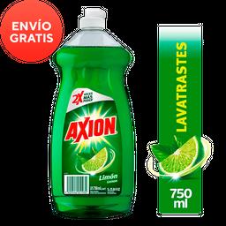 Lavatrastres Líquido Axion Limón