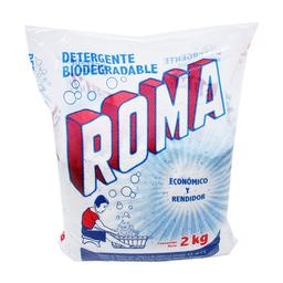 Detergente en Polvo Roma Multiusos 2 Kg