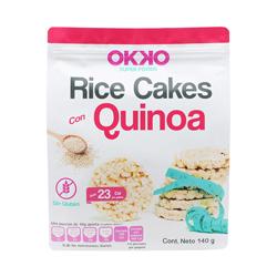 Galleta Okko de Arroz Con Quinoa 140 g