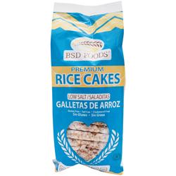 Galletas de Arroz Saladitas Bsd Foods 72 g