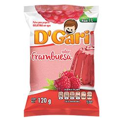 Gelatina DGari Frambuesa en Polvo 120 g