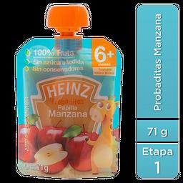 Papilla Heinz Probaditas Etapa 1 Manzana 71 g