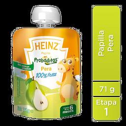 Papilla Heinz Probaditas Etapa 1 Pera 71 g