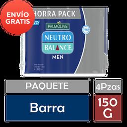 Jabón de Tocador Neutro Balance Men 150 g x 4