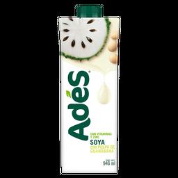 Bebida a base de soya con pulpa de guanábana