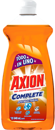 Lavatrastes Axion Complete Antibacterial Líquida 640 Ml