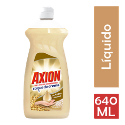 Lavatrastes Axion Avena Líquido 640 Ml