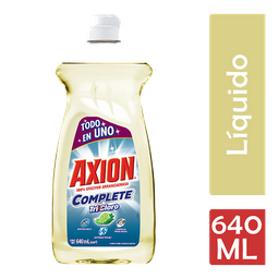 Lavatrastes Axion Complete Tricloro 640 Ml