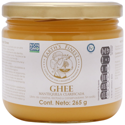 Mantequilla Earth's Finest Ghee Clarificada 265 g