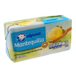 Mantequilla Alpura sin Sal 225 g