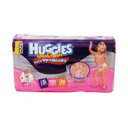 Pañales Huggies Ultra Confort Up & Ready Etapa 5 Niña 36 U