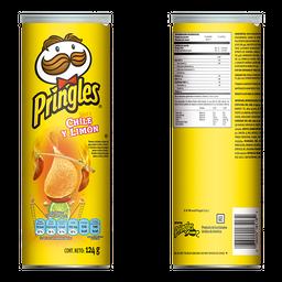 Botana Pringles Chile y Limón 124 g