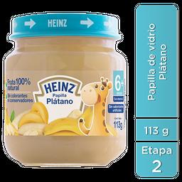 Papilla Heinz Plátano 2da Etapa 113 g