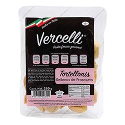 Pasta Vercelli Tortellonis Rellenos de Prosciutto 250 g