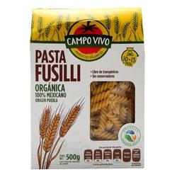 Pasta Fusilli Campo Vivo Orgánica 500 g