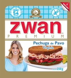 Pechuga de Pavo Zwan Premium Virginia 250 g