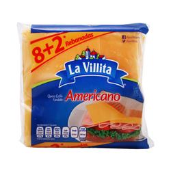 Queso Americano La Villita 175 g