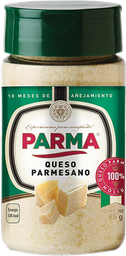 Queso parmesano molido Parma 85 g