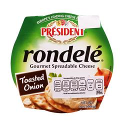 Queso Untable Président Rondelé Cebolla Tostada 226 g