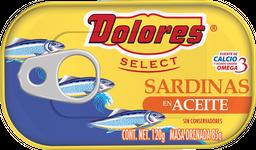 Sardinas Dolores en Aceite 120 grs
