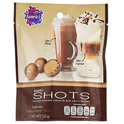 Shots Caramelo Capuccino-Mocha 50 g