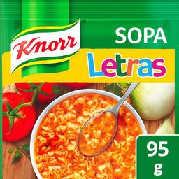 Pasta Para Sopa Knorr de Letras 95 g