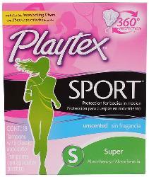 Tampones Playtex Sport Caja 18 U