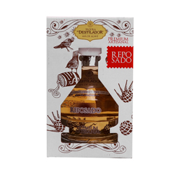 Tequila El Destilador Reposado Botella 750 mL