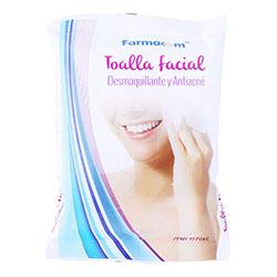 Toalla Facial Farmacom  Desmaquillante y Antiacne 25 U