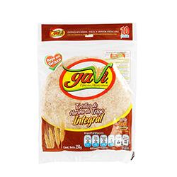 Tortilla Gavi De Harina Integral 10 U