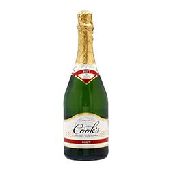 Vino Espumoso Cooks Brut California Seco Botella 750 mL