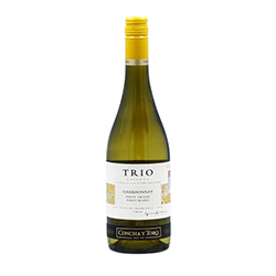 Vino Blanco Concha Y Toro Trio Botella 750 mL