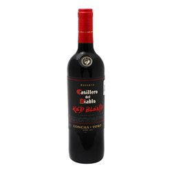 Vt Red Blend Casillero Del Diablo 750Ml