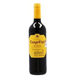 Vino Tinto Campo Viejo Rioja Tempranillo Botella 750 mL